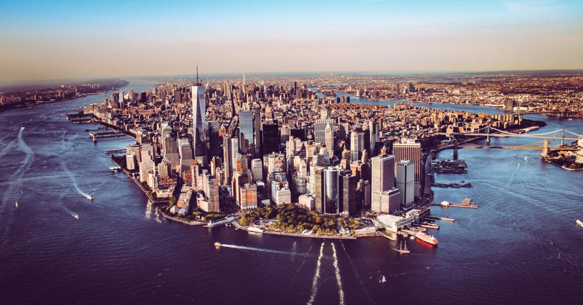 The island of Manhattan. Photo by Florian Wehde on Unsplash.