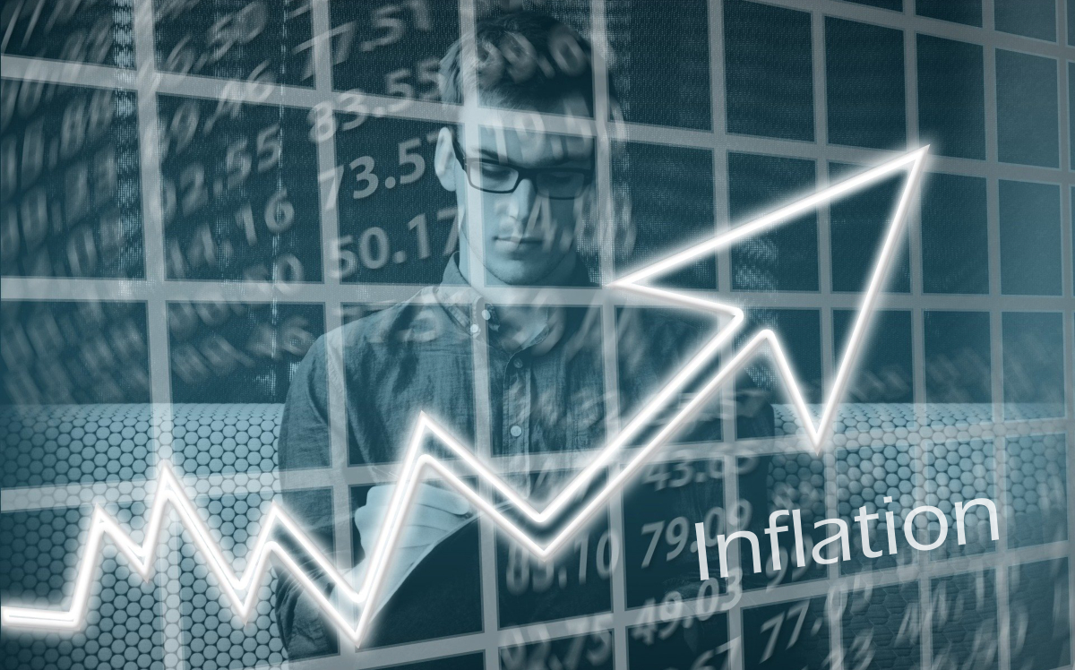 Inflation is soaring. Image based on an image by Gerd Altmann from Pixabay