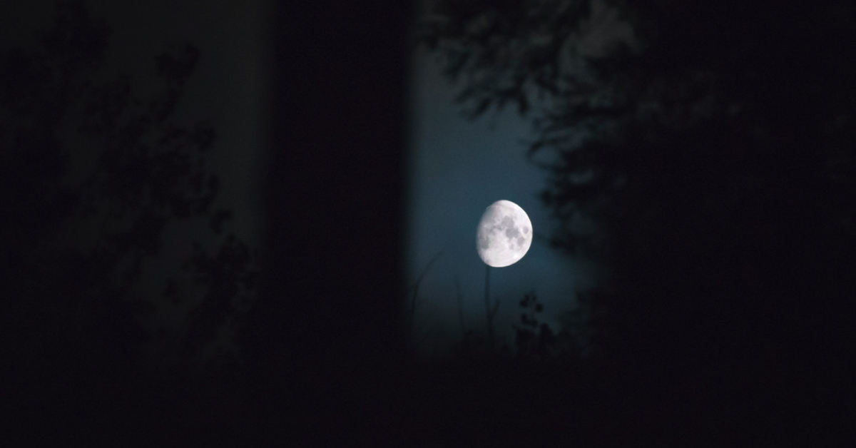 A dark night in the country. Photo by Gary Meulemans on Unsplash.