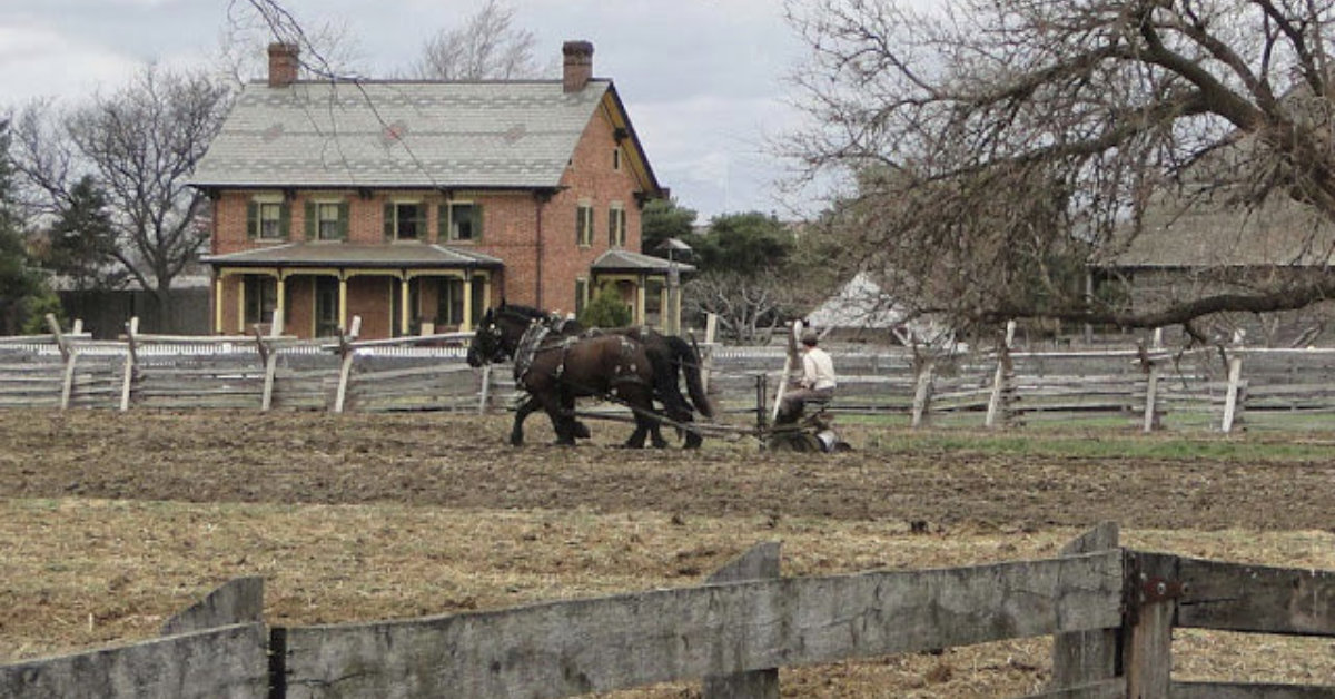 farming in the 1800s