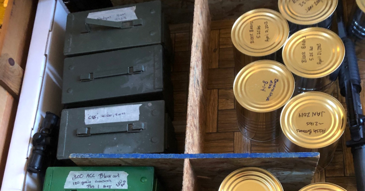 Clearing Out our Survival Retreat and a Look at What We Stored There