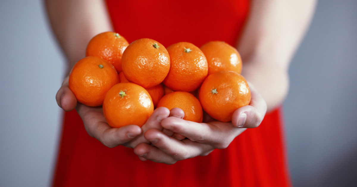 A surplus of oranges to trade