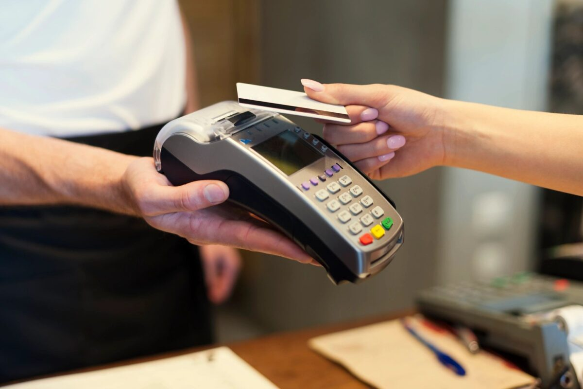 Paying by debit card