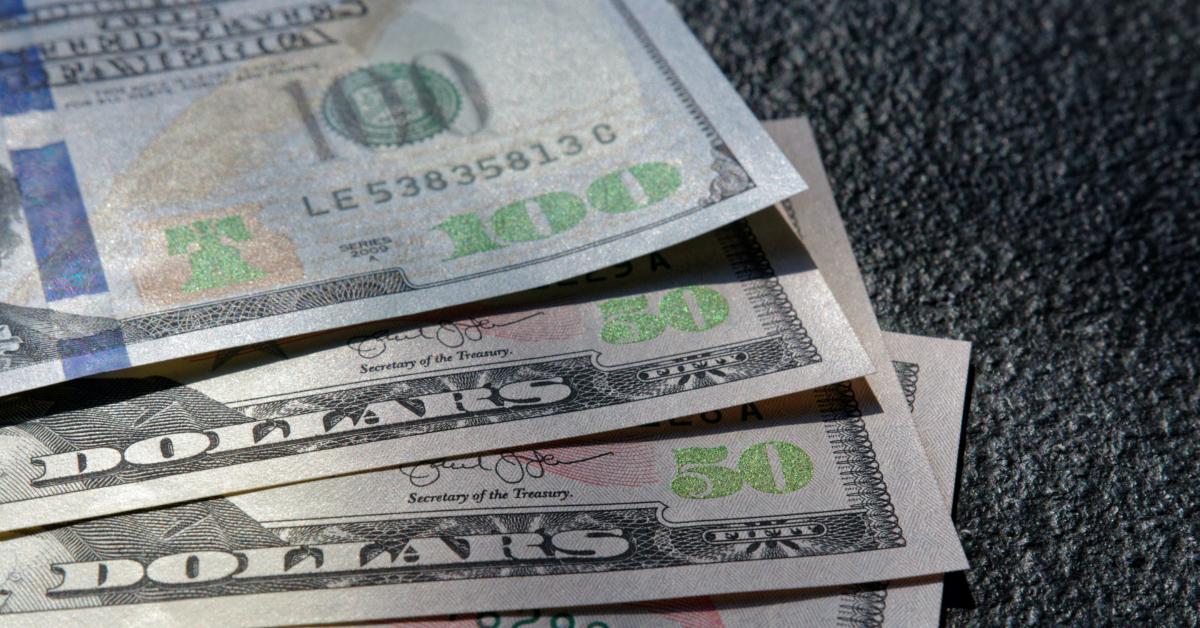 $100 and $50 bills