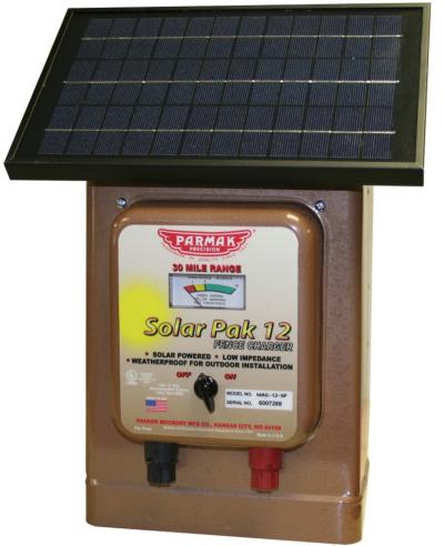 🔍 MAG12SP  Parmak Magnum Solar-Pak 12 Electric Fence Charger