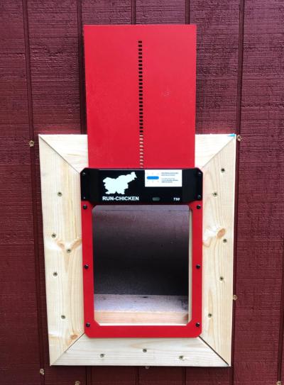Automated chicken coop door