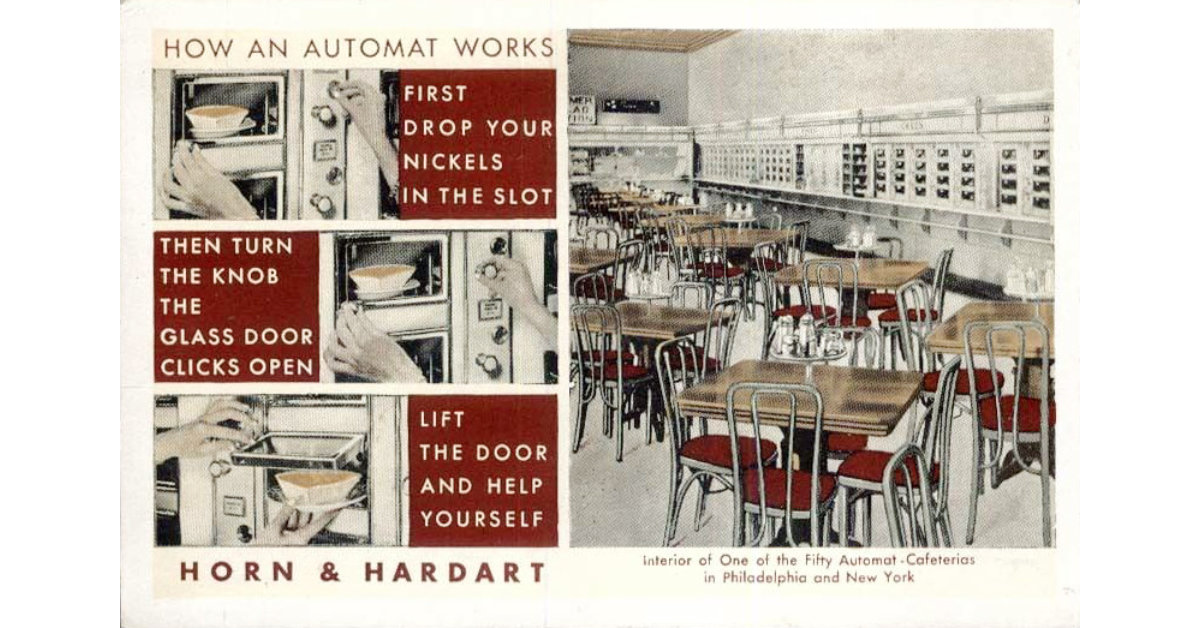 Instructions for using an automat