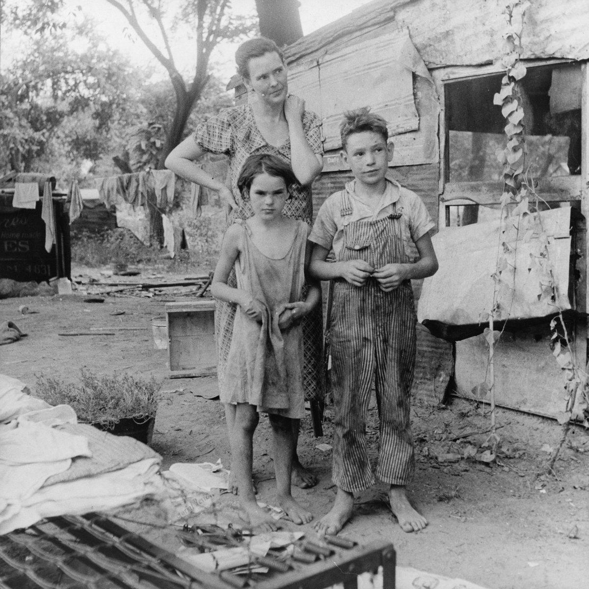 A depression era family