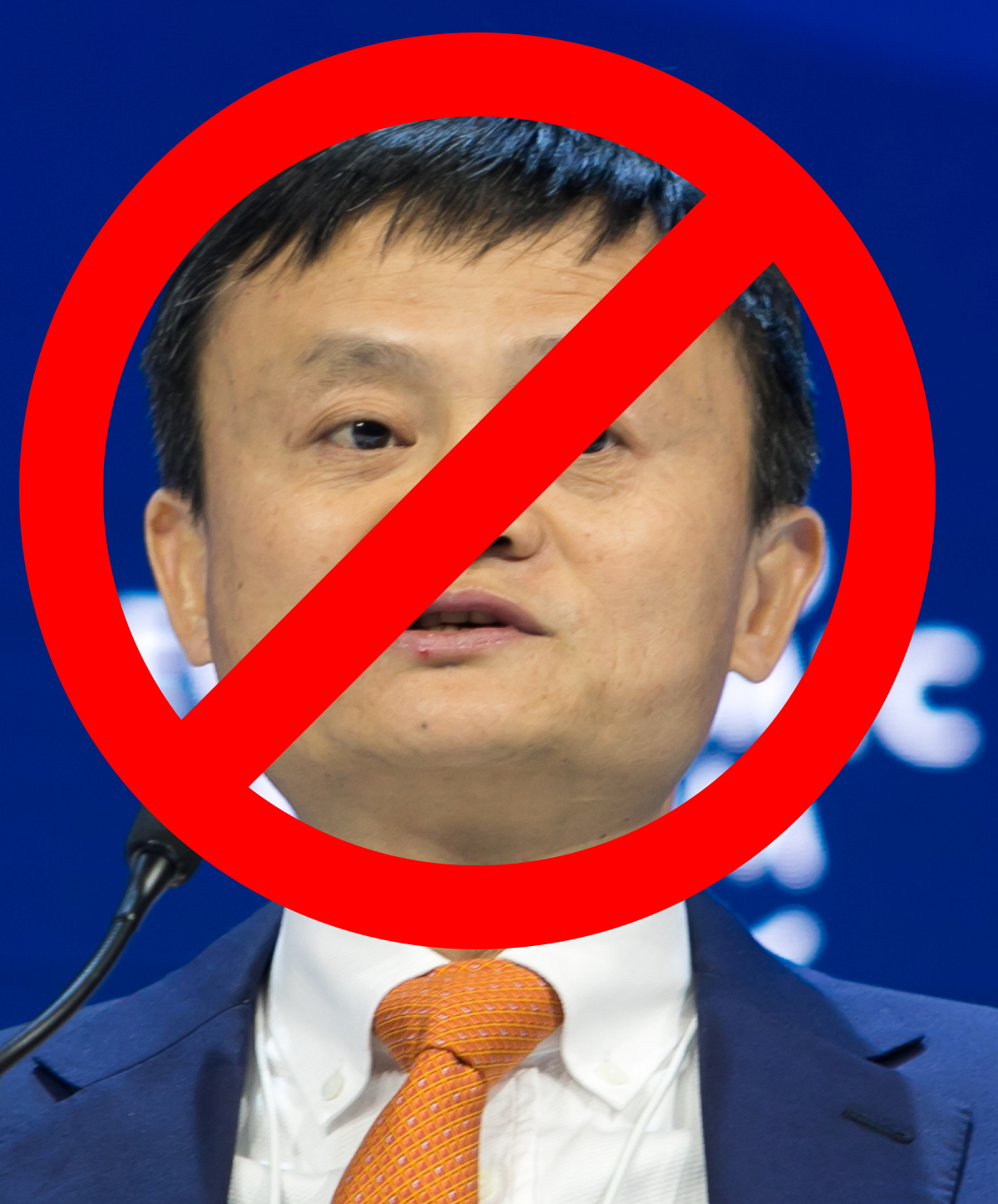 Jack Ma has been cancelled.