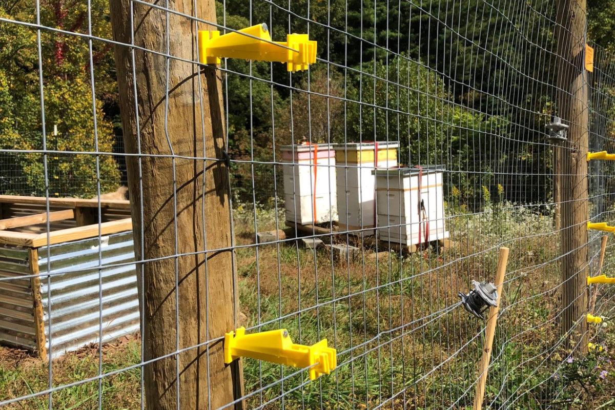 The electric fence is fixed!