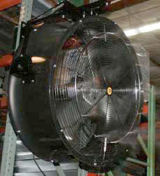 Industrial High Pressure (1000 psi) System for Summer Cooling Able to Reduce Temperature up to 20ºF