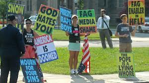 The Westboro Baptist Church is famous for their positive Christian message.
