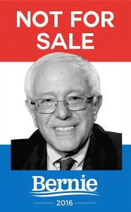 Bernie is not for sale, but it might cost him dearly.