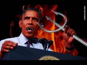 This was the interpretation of Barack Obama in 2008 by conservatives. A little overdramatic, perhaps?
