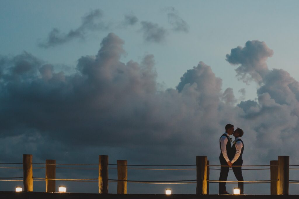 The Fives Azul Beach Resort Wedding