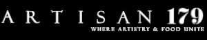 Artisan 179 Logo with white text