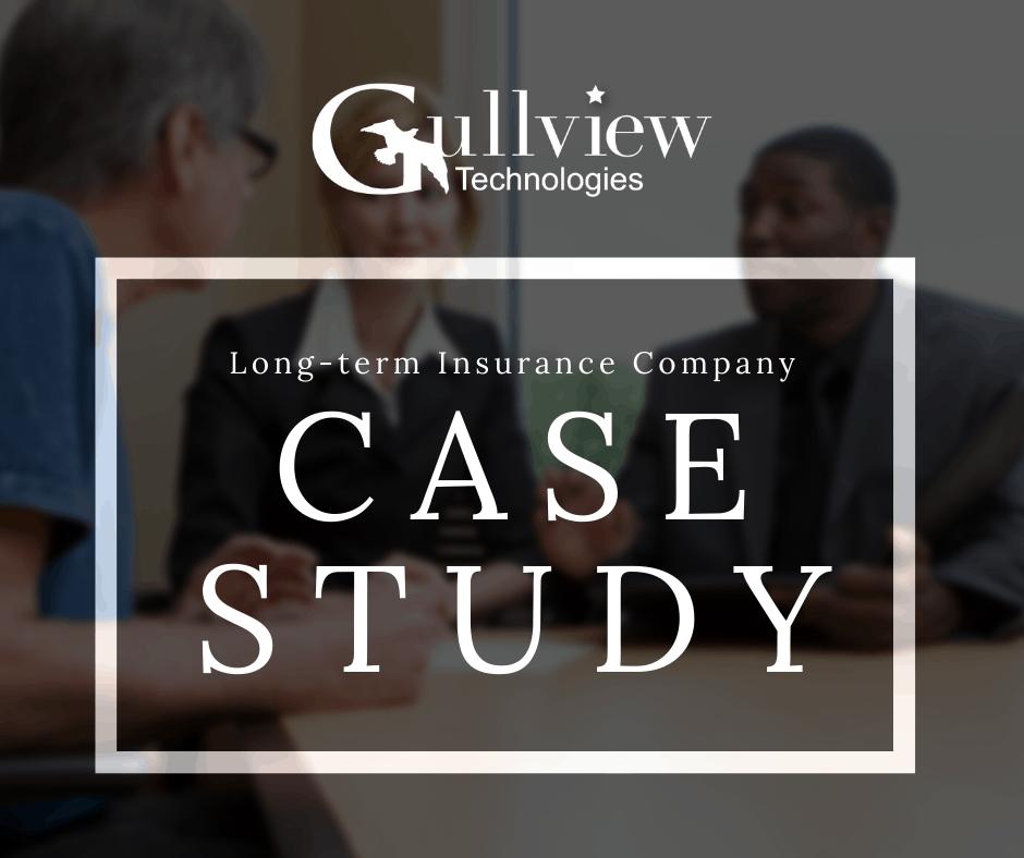 Long-term insurance company case study