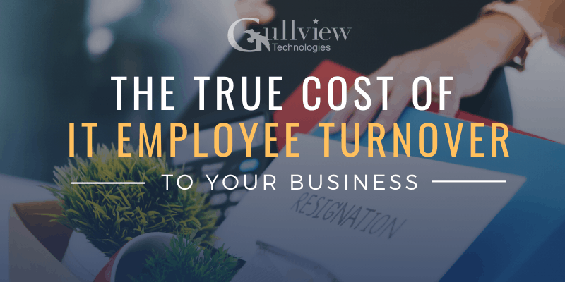 The true cose of it employee turnover to your business