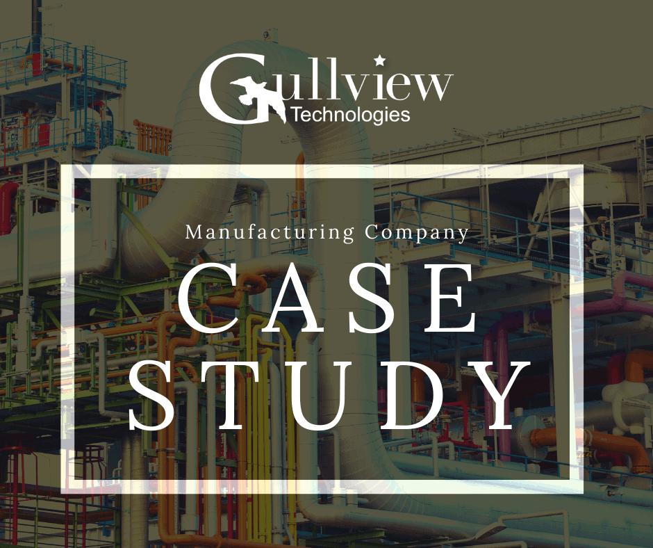 Manufacturing Company Architecture Case Study