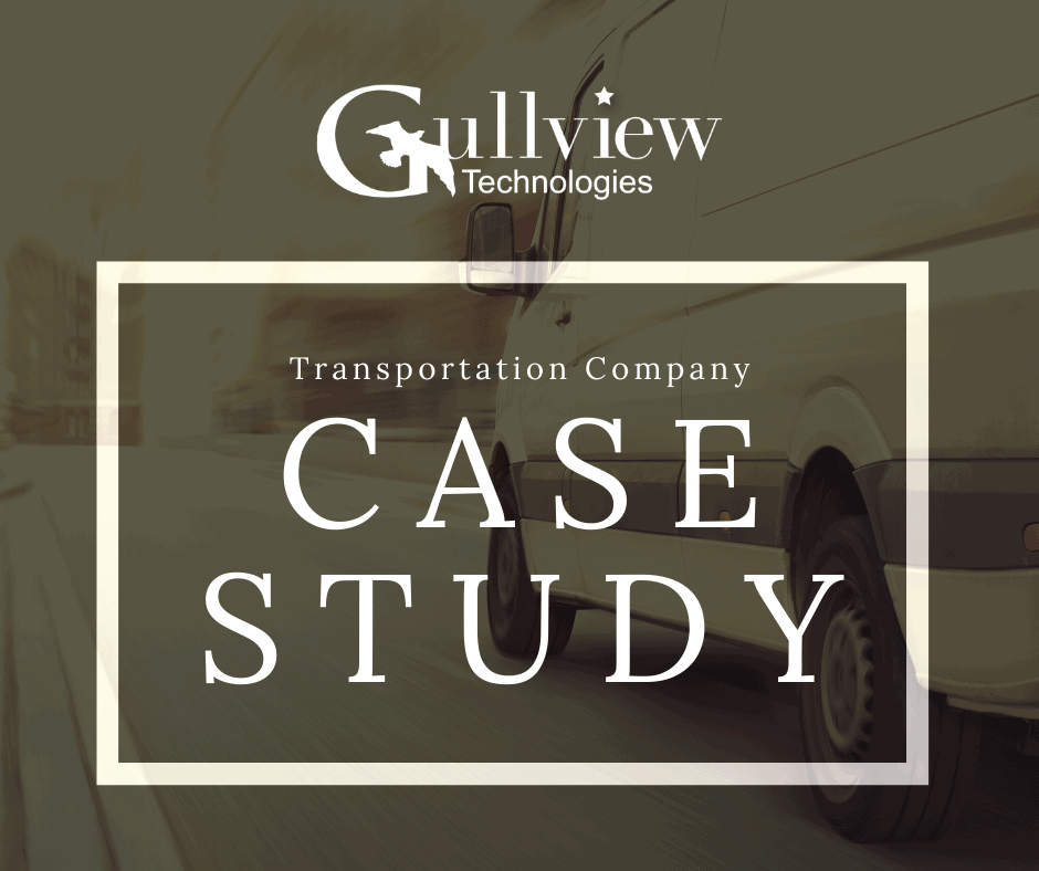Transportation Company Architecture Case Study