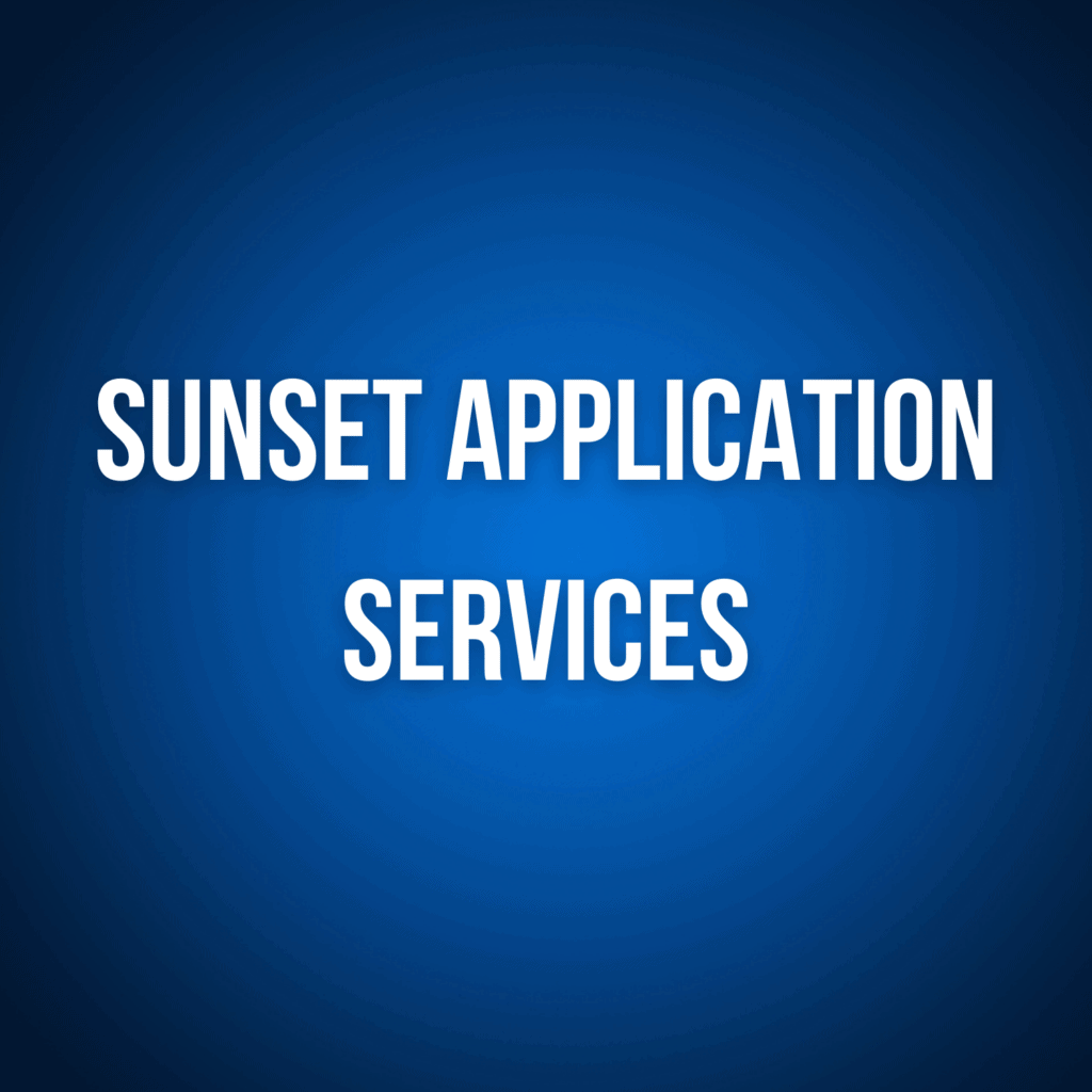 Sunset Application Services