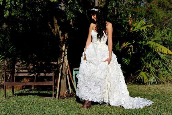 Nature lover bride