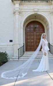 Amber Soft Silk wedding dress