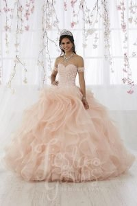 Beautiful light pink Ball gown, Amazing Quinceañera Dresses