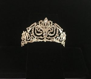 Bridal crown tiara