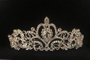 Shiny Crystal Headband Tiara, Beautiful Bridal Crowns For ladies