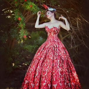 non traditional wedding dress