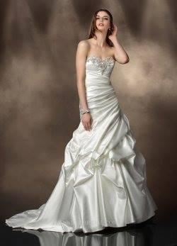 Stunning Aline Bridal Gown