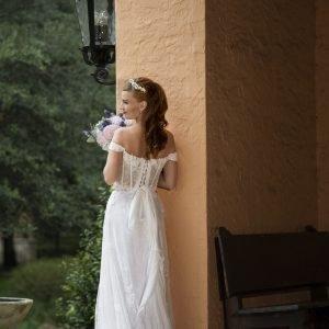 bride petit, small short bride wedding dress