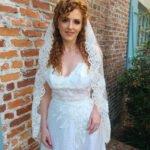 Wedding veil- Lace bridal veil