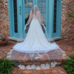 wedding veil, Bridal veil, cathedral lace veil