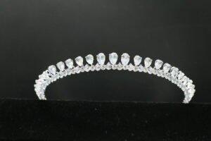 Zirconia Bridal Tiara Headpiece