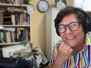Robin Kemp, host of The Real Story with Robin Kemp, the podcast of claytoncrescent.org