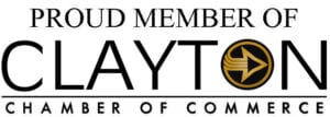 Proud member of Clayton Chamber of Commerce