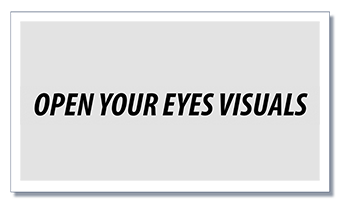 Open Your Eyes Visuals logo 340