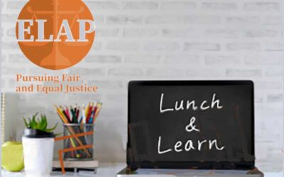 Eastside Legal Assistance Lunch and Learn Webinar