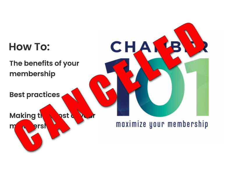 Chamber 101 Canceled