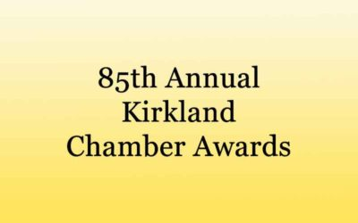 Kirkland Chamber 2021 Annual Chamber Awards Recipients