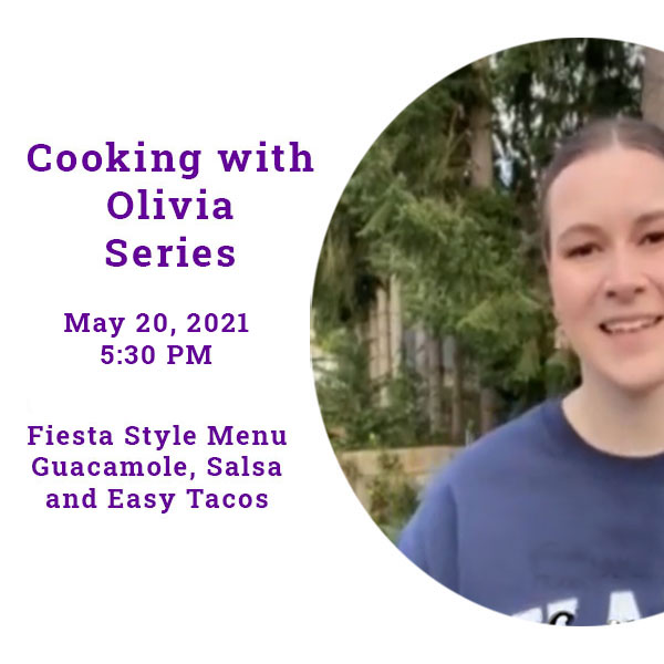 Cooking with Olivia Series promo