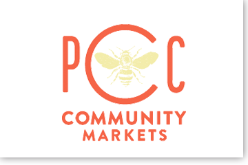 Image of PCC community markets logo and link to website