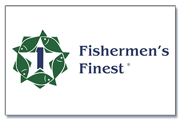 Fishermens Finest logo and link to website