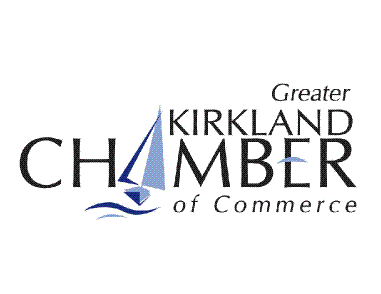 Kirkland Chamber of Commerce logo and link to website