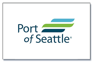 Port of Seattle logo and link to website