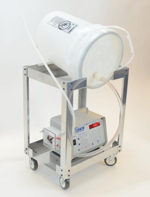 Liquid Color Pump Cart with Tuskin Peristaltic Pump