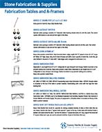 Fabrication Tables and A-Frames-I-37-39