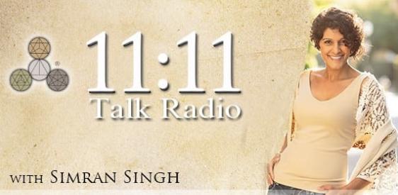 Logo for 11:11 Talk Radio with Simran Singh